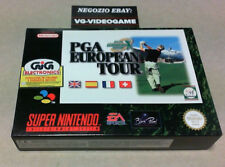 PGA EUROPEAN TOUR  !!!!!  NUOVO !!!  SUPER NINTENDO