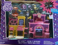 Littlest Pet Shop Prep 'N Party Double Playset Rhino Sparkles LPS