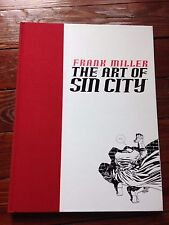 Frank Miller The Art Of Sin City November 2002 hardcover