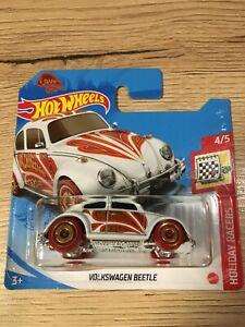 Hot Whees Volkswagen Beetle love valentine blanche