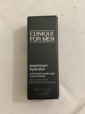 Clinique for Men Maximum Hydrator Water Gel Concentrate Moisturizer 0.24 oz