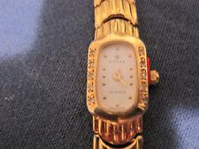 #245 ladys CYMA gold plate swiss quartz watch
