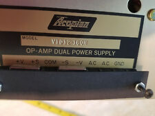 NEW ACOPIAN MODEL VTD12-160 LINEAR REGULATED DUAL OUTPUT / OP-AMP