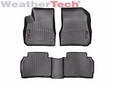 WeatherTech FloorLiner Mats for Chevy Malibu - 2016-2019 - 1st/2nd Row - Black