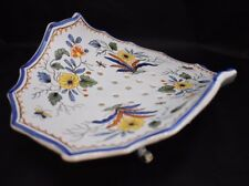 TIFFANY & CO. Berry Bowl Hand Painted in France Numbered Strainer Vegetable Dish