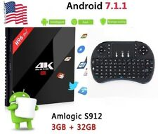 Android 7.1 KODI + MINI KEYBOARD Octa Core 3GB 32GB + TV Box Media Player REMOTE