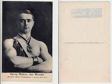 Welton halb nackter Mann im Zirkus Artist male Circus Boy c.1920 sporty Gay Int