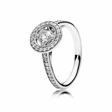 "PANDORA Ring Original 191006CZ ""VINTAGE ZAUBER RING"" W56 925 Sterlingsilber"