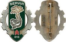 516° Régiment du Train, SERVIR, 46 mm, opaque, J.M.M. 4079 (G106)