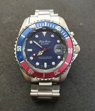 Phillip Persio Divers Style Watch with Backlight WR 3ATM