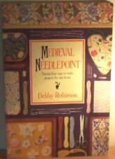 Medieval Needlepoint By DEBBY ROBINSON. 9781855850880