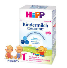 HiPP Combiotic Kindermilch 1+ Organic Milk Formula FREE SHIPPING 09/2019