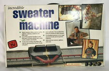 Bond Incredible Sweater Machine 100 Needle Instructions Video Tabletop New