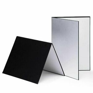3 In 1 Photography Reflector Cardboard Folding Light Diffuser for Photo Shooting