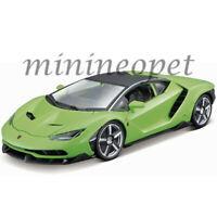 MAISTO 31386 LAMBORGHINI CENTENARIO LP770-4 1/18 DIECAST MODEL CAR GREEN