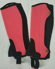 New Horse riding Amara Chaps Pink and Black 10 Years