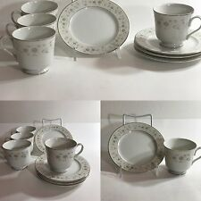Carlion Andover 482 Tea Cup and Saucers  Set of 4