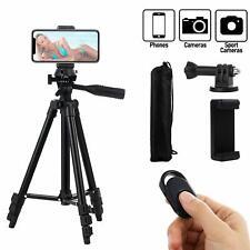 Trepied Appareil Photo pour Smartphone/GoPro/Camera avec Télécommande Bluetooth,