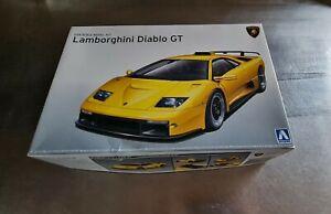 Lamborghini Diablo Gt Model Kit