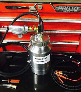 EVAP Smoke Machine Diagnostic Emissions Vacuum w/Evap adapter & removal tool