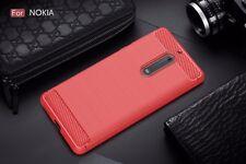 Case For Nokia 3 Nokia 5 Nokia 6 Nokia 8 Carbon Fiber Texture Cover For Nokia 3
