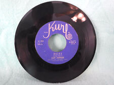 Cliff Shepherd, Roses / Cannot Live Without Your Love, K 6201, 1962 Rockabilly