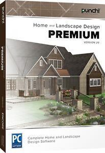 Punch Home & Landscape Design Premium v20 - Digital Download