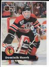 1991-92 Pro Set #529 Dominik Hasek Rookie Card RC Hall of Fame