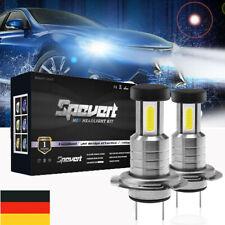 2X H7 110W Lampen hohes LED  Scheinwerfer-Kit Abblendlicht Canbus 360° 6000K DE