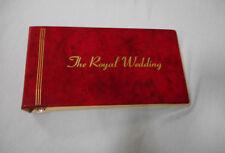 #JJ.   1981 ROYAL WEDDING LADY DIANA & PRINCE CHARLES WORLD STAMPS IN FOLDER