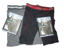 Under Armour ISO Chill Boxer Jock Boxer Briefs underwear lot of 2 pair Small / S