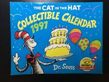 Dr. Seuss - The Cat In The Hat - Collectible Calendar - 1997 - 40th Birthday