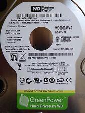 Western Digital WD5000AVVS-63ZWB0 | DCM: HARCHT2MGN | 28 OCT 2008 | 500 GB