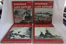 """""""The Military History Of World Warr II"""", 1962, Complete 18 Volume Set"""