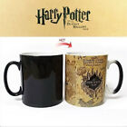 Harry Potter Marauder's Map Color Changing Magic Cup Heat Sensitive Coffee Mug