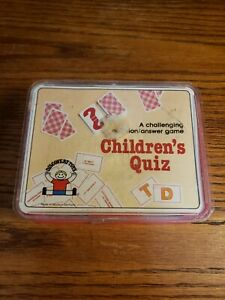 Discovery Toys Childrens Quiz Card Game 1983 Western Germany Vintage
