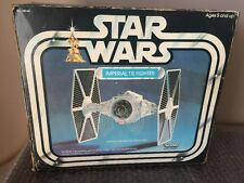 1977 STAR WARS TIE FIGHTER SHIP VINTAGE KENNER w/ Box And Instructions Look