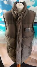 "Superdry Academy Beige Down Gilet. 19"" pit-to-pit, 28"" length, XL"