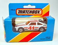Matchbox Superfast Nr.60E Toyota Supra weiß top in Box