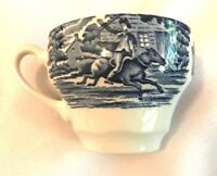 Staffordshire LIBERTY BLUE  Coffee Cup-Md in England