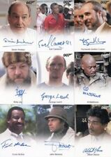 James Bond 50th Anniversary Series One Autograph Card Lot 16 Cards