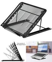 Portable Foldable Notebook Laptop Holder Desktop Metal Stand Cooling Adjustable