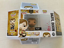 FUNKO POP! THE WALKING DEAD DARYL DIXON BLOODY EXCLUSIVE #72 BOX CAME UNGLUED!
