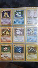 carte pokemon, prima serie italiana completa