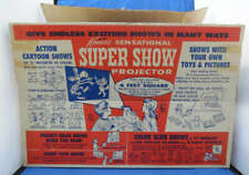 Kenner's Sensational Super Show Projector Plus Box 35MM Slide