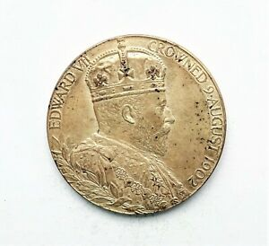 Edward VII Coronation Silver Medal 32mm