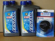Ölwechselset Suzuki GSXR  : 4 L Ecstar R7000 Synthetic 10W40 + Originalfilter