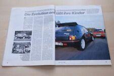 Sport Auto 5556) Peugeot 205 GTI Evolution von Dimma mit 165PS besser als...?