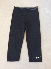 Women's Nike Pro Capri II Compression Capris Black Size Small 458659-010