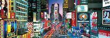 LOT 35396   Clementoni Panorama Times Square New York 1000 Teile Puzzle NEU OVP